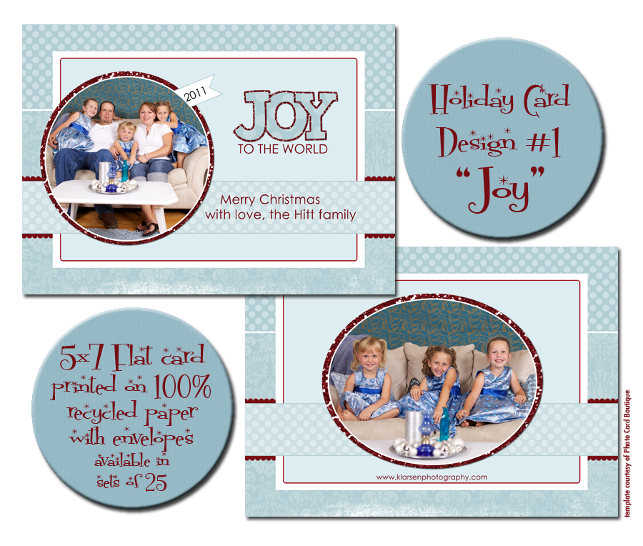 Holiday Card blog board 1