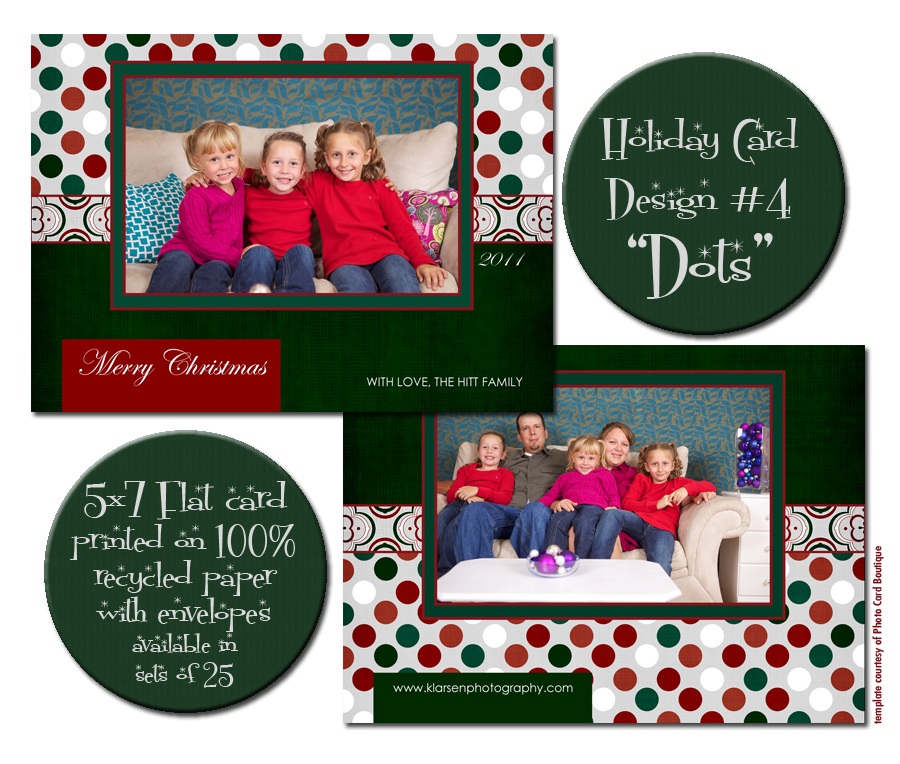 Holiday Card blog board 4