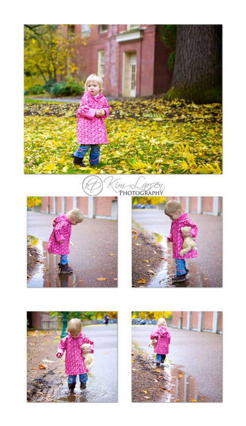 Toddler Fall Fun ©Kim Larsen Photography