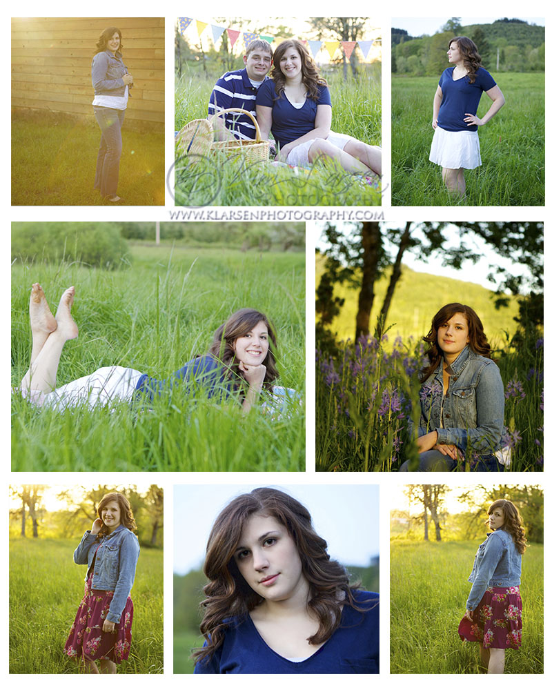 Country Senior Portraits in Cottage Grove Oregon